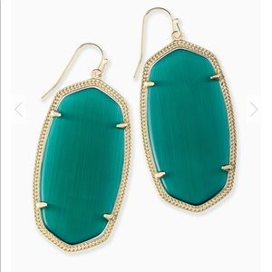 kendra scott - danielle green and gold